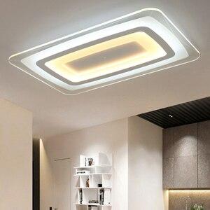 Image 5 - חדש מודרני LED תקרת אורות עם 2.4G RF מרחוק קבוצת Dimmable נשלט צבע לשינה בסלון led תקרת מנורות