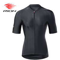Women Cycling Jersey Autumn Summer Spring Clothes Black for MTB Road Bike Short Sleeves Sports Jacket Outdoor Reflective Pocket