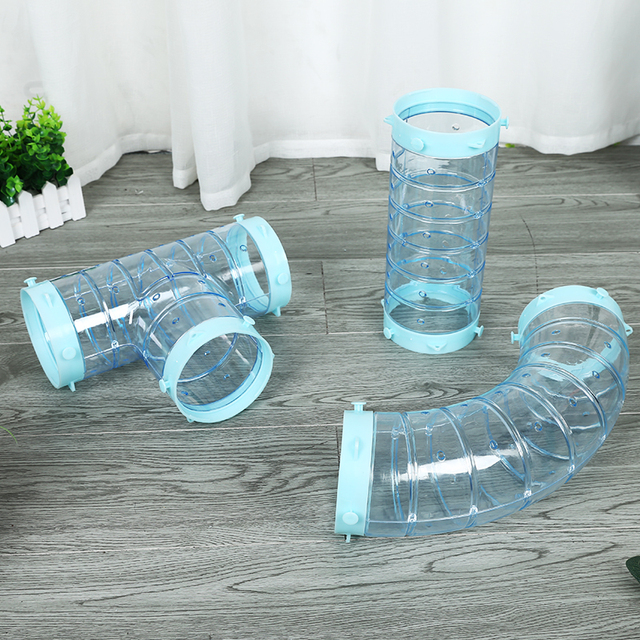2018 Free shipping DIY pipeline Ferrets tunnel Pet pipeline Pet tunnels Hamster tunnels Mink cage accessories Parts split sales
