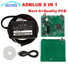 Adblue Emulator 8 IN 1 With NOX Sensor Supports EURO 4&6 Automotive