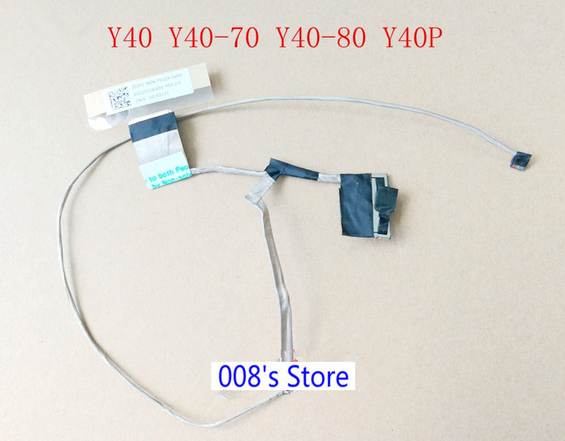 Charitable New Screen Lcd Cable For Lenovo Ideapad Yoga 2 11 Y40-70 Y40-80 Y50-70 Zivy1 Dc02001wa00 Lvds Video Flex 30 Pin Computer & Office