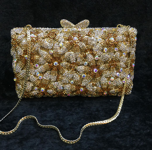 women red gold blue diamond Evening Bags gold Clutch Hard Box Clutches Bags Day Clutch party Purse wedding bridal bag women bags