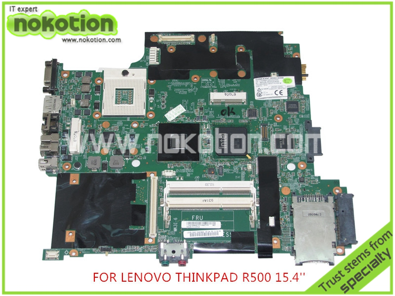 FRU 42W7982 For lenovo thinkpad R500 15 Laptop motherboard intel GM45 DDR3 Intel HD graphics Mainboard