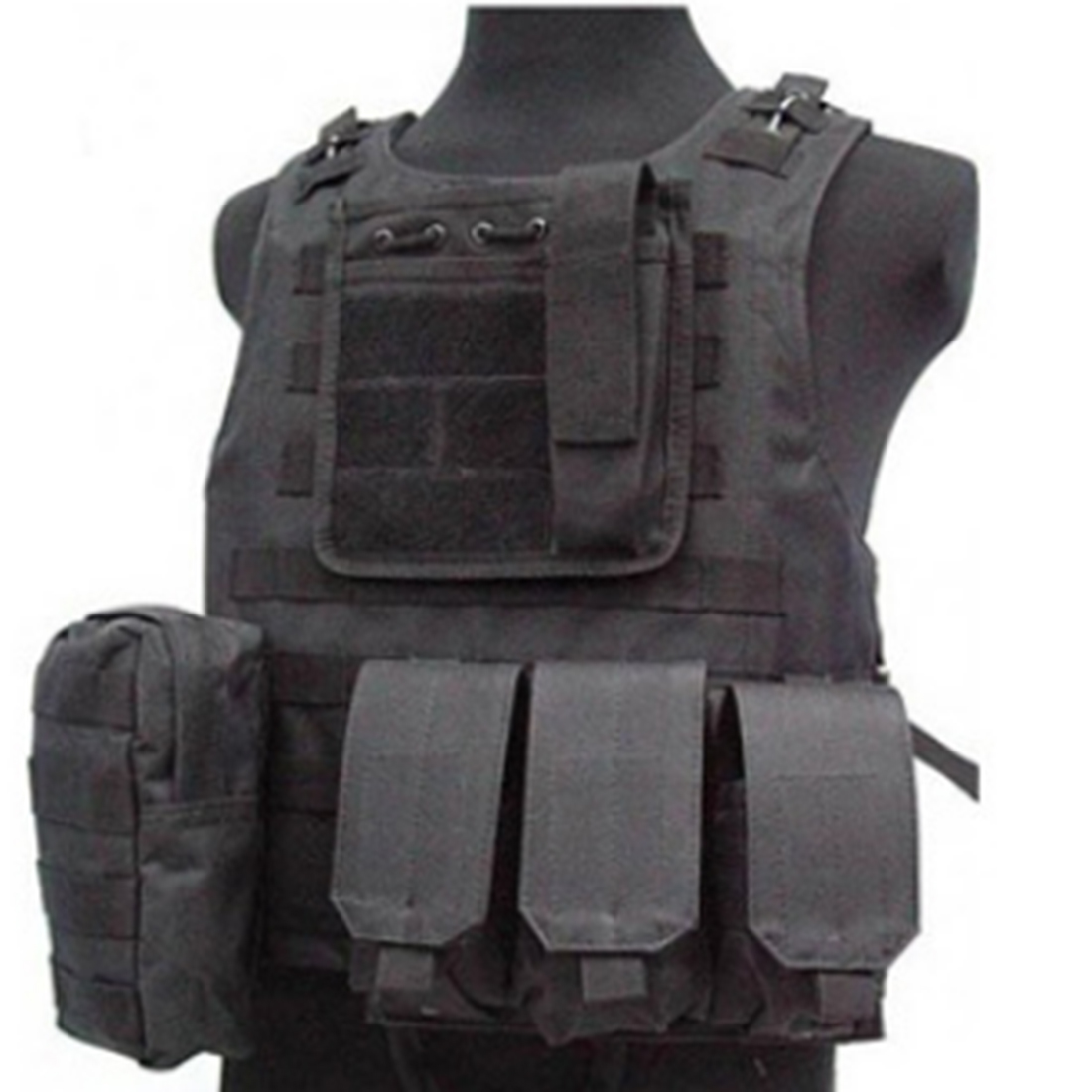 Tactical Vest Men Waistcoat Combat Molle Military Multi Pockets Vest for Camping Hunting CS Wargame Airsoft Paintball Airsoft airsoft adults cs field game skeleton warrior skull paintball mask
