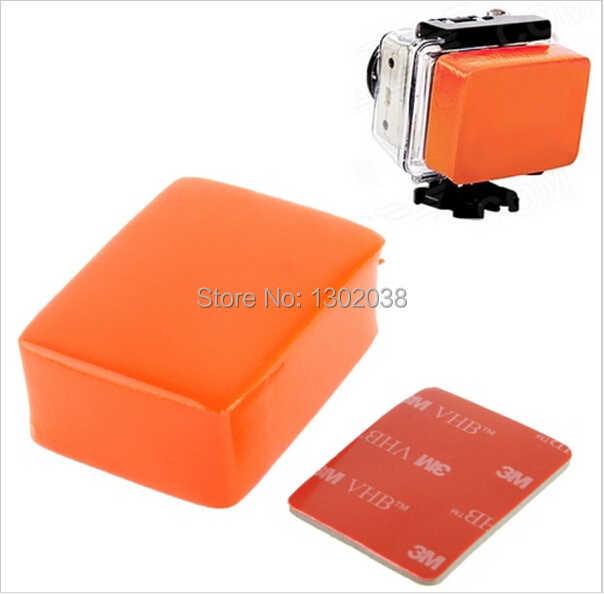 Gopro Hộp Float Floaty Backdoor Nổi Bobber với 3 M Keo Chống rửa chén cho gopro máy ảnh hero 4 3 + 3 2 1 phụ kiện