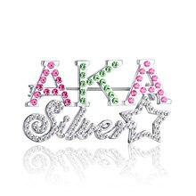 Mais recente da Personalização Design AKA sliver estrela Pino de Sorocaba 811b307802c