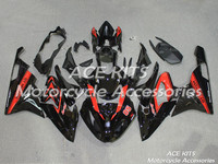 New ABS Motorcycle fairing kit For BMW S1000RR 2015 2016 Bodywork Injection mold black red ACEKITS Store No.0037