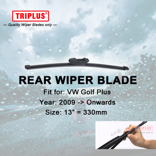 Rear Wiper Blade for VW Golf Plus (2009-Onwards) 1pc 13 330mm,Rear Windscreen Wipers,for Back Window Windshield Blades