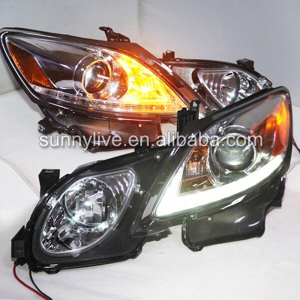 For Lexus Gs300 Gs350 Gs430 Gs450 Led Head Lamps Front