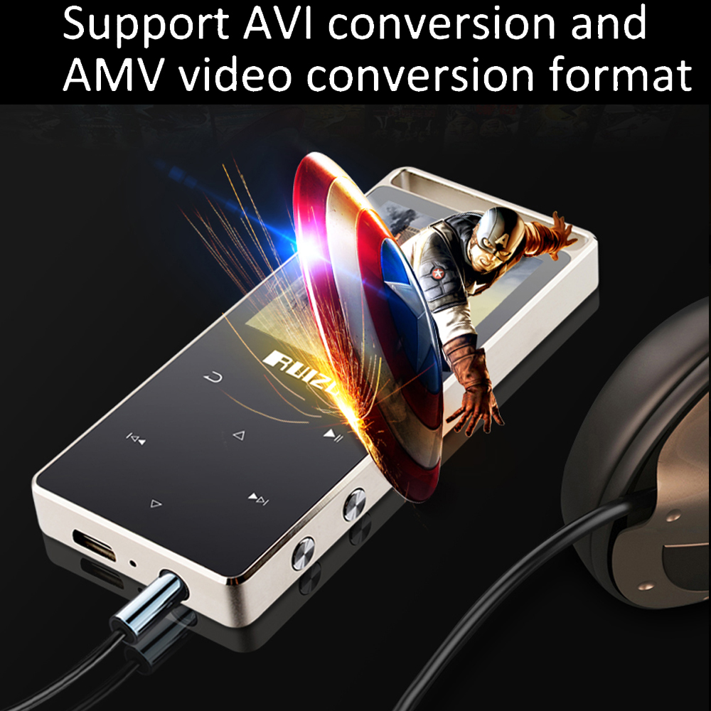 Original MP3 Player 8GB 1.8 Inch Screen play 60h Mp3 Music Player music player FM video support SD card 64GB