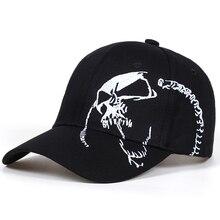 High Quality Unisex Cotton Outdoor Baseball Cap Skull Embroi