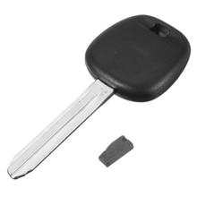 Uncut Ignition 4D 67 Chip Car Key Case Transponder Replacement Black For Toyota TOY44D-PT 4D 67 68 Chip