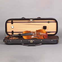 Высокое качество 4/4 прямоугольник Скрипка чехол с гигрометром Оксфорд корпус скрипки