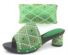 Italienischen Schuh Mit Passender Tasche Für Hochzeit Mode Frauen Sandale Schuhe Neuesten Afrikanische Schuhe Und Taschen Zu Entsprechen TH02