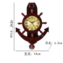 Fashion wall clock fashion wool art clock pocket watch wall clock