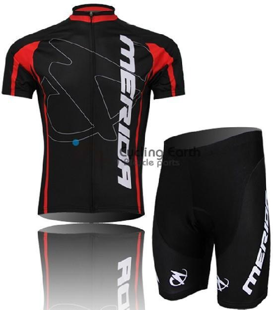 2014 Merida #2 Short Sleeve Cycling Jersey & bbb shot Set bike bicycle clothing Sweater sport T shirt wear clothes Z123