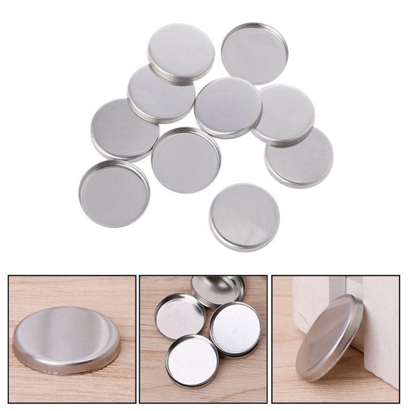 10pcs Empty Eyeshadow Palette Powder Pans Pot Storage Responsive To Magnets