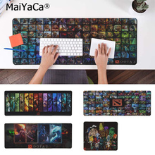 MaiYaCa Top Quality love DOTA 2 Rubber Mouse Durable Desktop Mousepad Free Shipping Large Pad Keyboards Mat