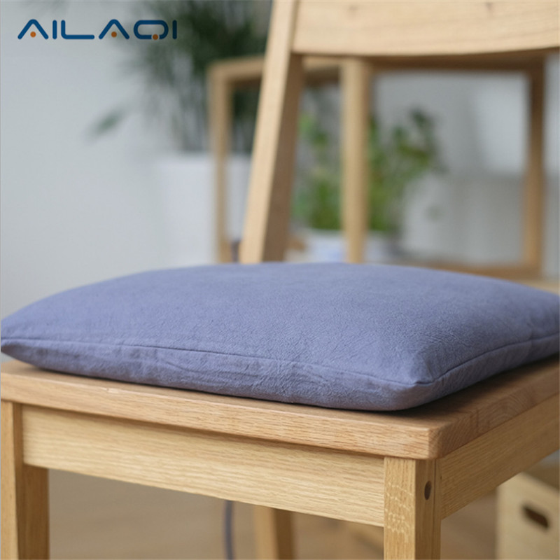 2017 New Japanese Cotton Cushion And Linen Chair Cushions Pillow Winter  Thick Removable Wash Pants Core Cushion 40 * 40cm In Cushion From Home U0026  Garden On ...