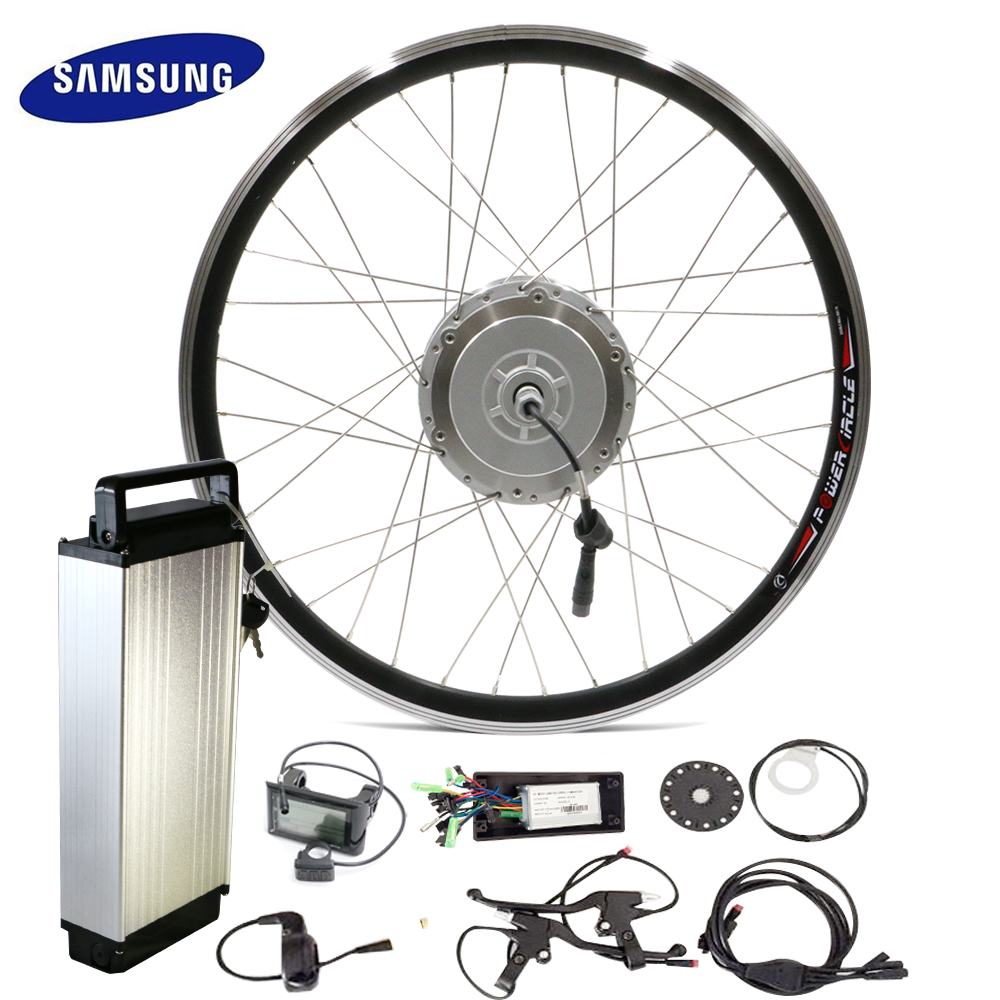 Buy 48v electric bike conversion kit 250w for Bicycle electric motor kits