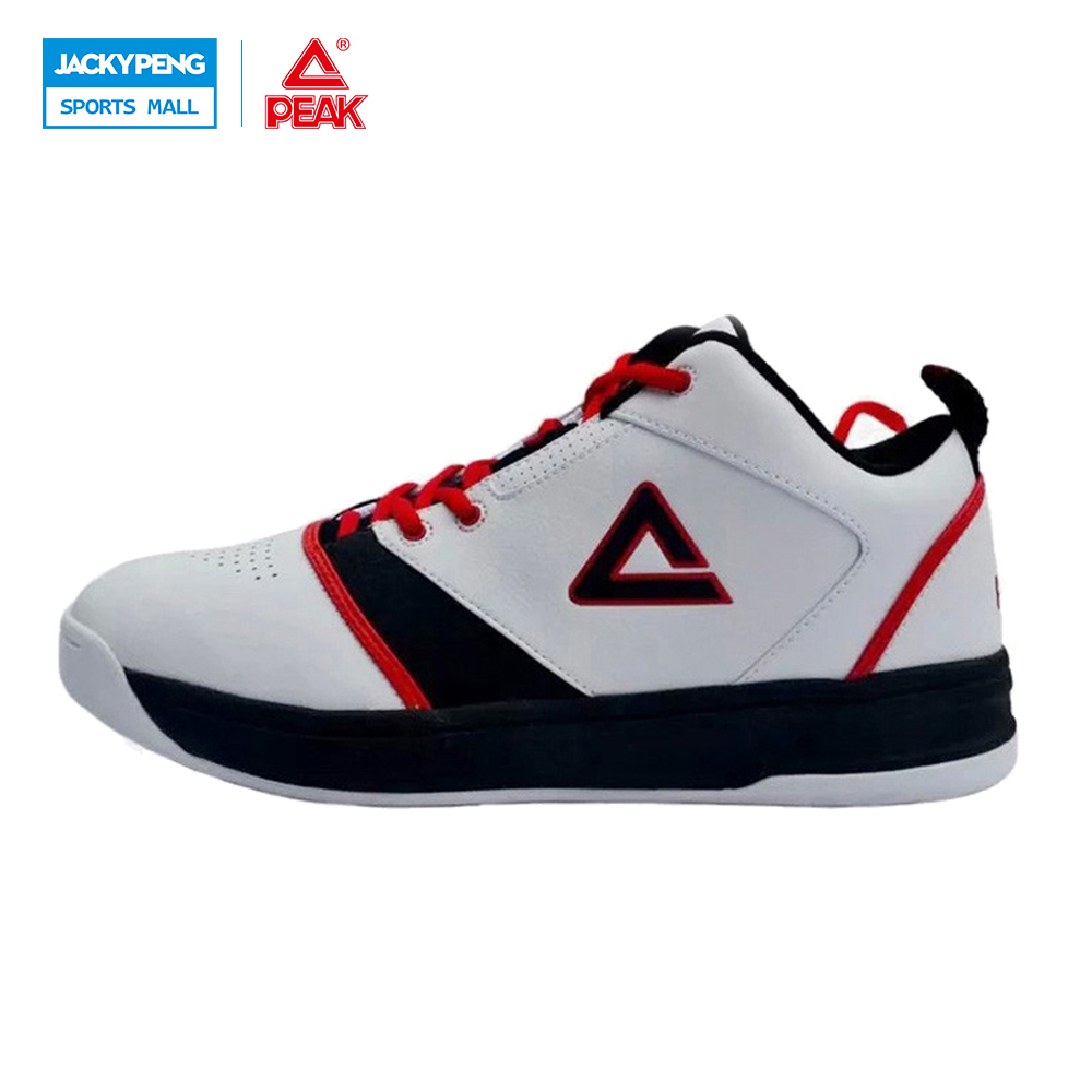 PEAK Basketball Sports Shoes Men Athletic Training Shoes Zapatillas De Basketball Wear-resistant Non-Slip Basketball Basket peak sport men outdoor bas basketball shoes medium cut breathable comfortable revolve tech sneakers athletic training boots