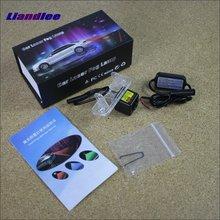 Liandlee Anti Laser Fog Lamps For Mercedes Benz C160 C180 C200 C230 C240 C280 Rear Distance Warning Alert Line Safe Drive Light