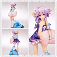 MCR Anime 18cm Choujigen Game Neptune Hold pillow action figure toys collection doll Christmas gift with box