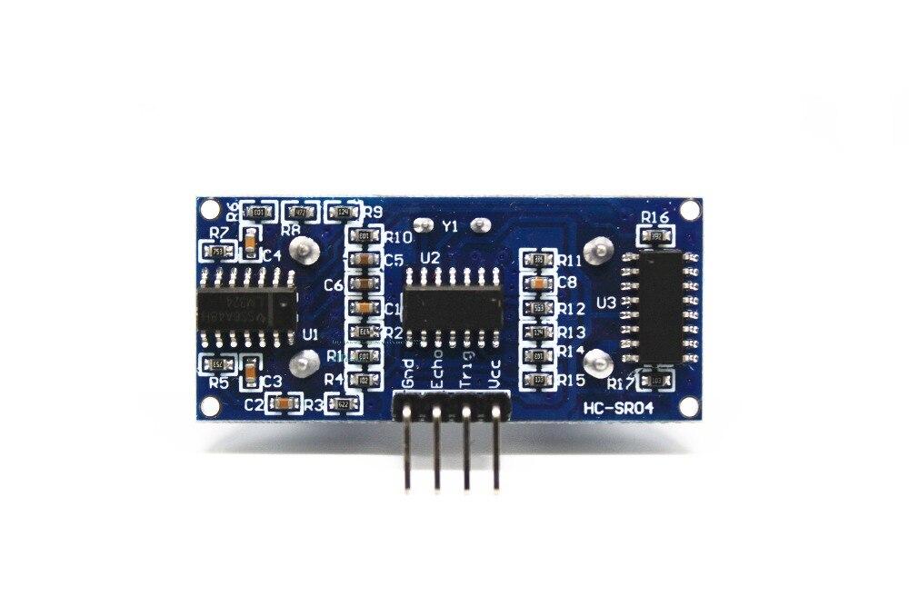 Image 3 - 50 pièces HC SR04 module à ultrasons module de mesure de Distance à ultrasons capteur Module dévitement dobstaclesmodule hc-sr04module sensor  -