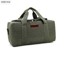 Large Capacity Canvas Kraft Hand Messenger Messenger Bag Male Bag Travel Shoulder Bag Luggage Thicker Travel