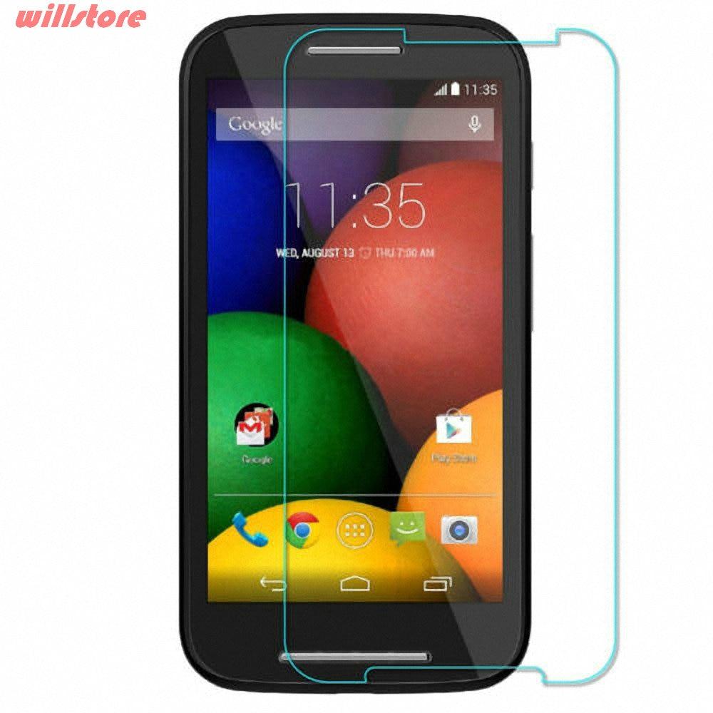 Tempered Kaca Screen Protector film Untuk Motorola Moto E E2 X X2 G - Aksesori dan suku cadang ponsel - Foto 3