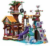 New Friends Series Boy Scout Adventure Camp Tree House Building Blocks Compatible with 41122 Lepin Toys Bricks Best Gift lepin 20057 genuine technic mechanical series ultimate extreme adventure car building blocks bricks compatible with lego 42069