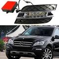 Carro kit DRL Para Mercedes-Benz W164 ML280 ML300 ML350 ML320 ML500 2010 2011 LED Daytime Running Light bar lâmpada luz do dia carro drl