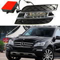 Kit DRL del coche Para Mercedes-benz W164 ML280 ML300 ML350 ML320 ML500 2010 2011 lámpara de luz diurna drl del coche LED de Conducción Diurna Light bar