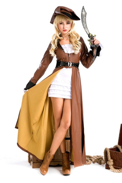 Deluxe Halloween Women Adults Pirate Costumes Girls Knight Cavalier Clothing Long Sleeve Caribbean Pirate Cosplay Fancy  sc 1 st  AliExpress.com & Deluxe Halloween Women Adults Pirate Costumes Girls Knight Cavalier ...