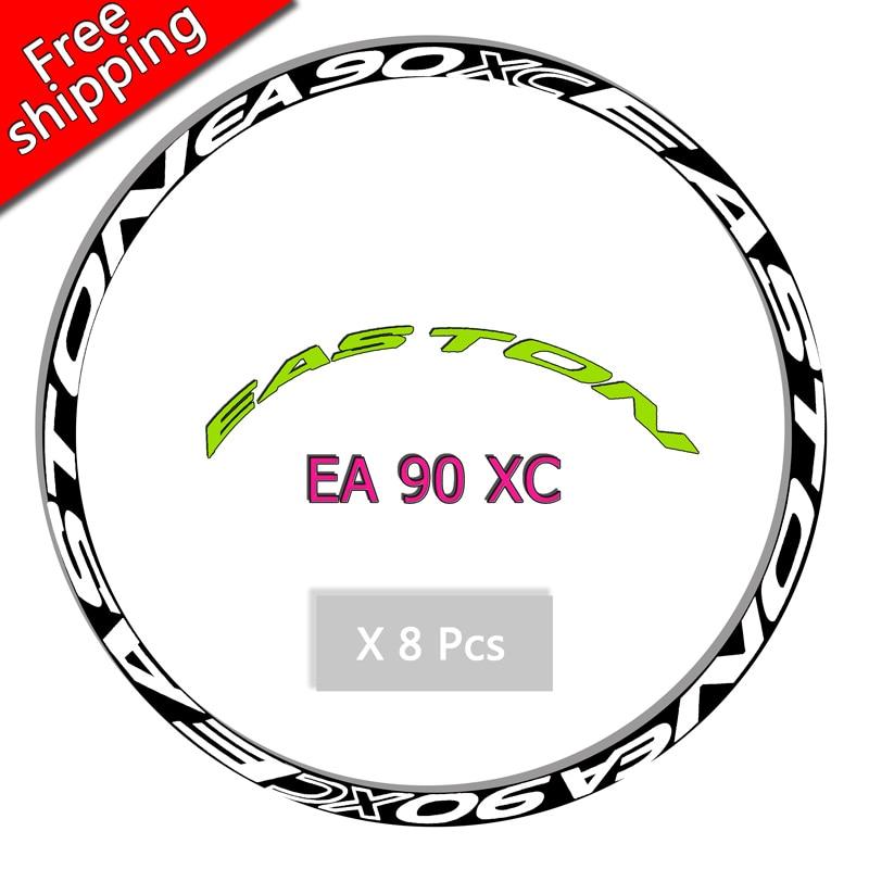 EA90XC Roues Jante autocollants pour VTT Montagne Vélo 26/27. 5/29 pouces vélo Vélo en toute sécurité Protecteur VTT DH Course vinyle stickers