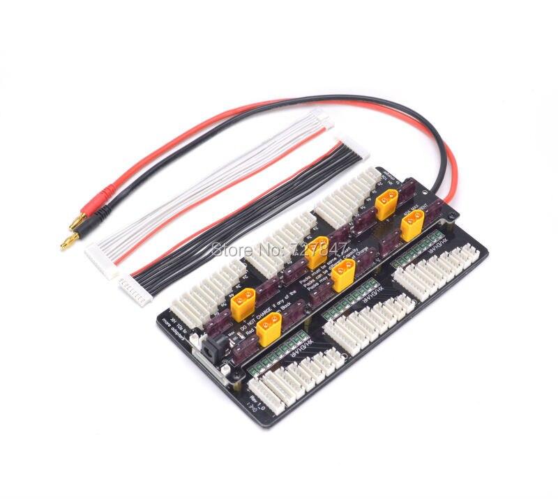 New Cellpro PL8 PL6 308/3010/4010 2~8S Battery Charger Balance Board 8s Same time charging 6 Batteries for RC Drone FPV доска для объявлений dz 1 2 j8b [6 ] jndx 8 s b