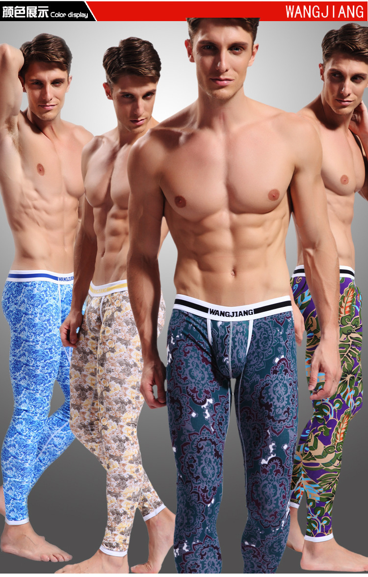 male Network will WJ cotton printed character long Johns panties underwear