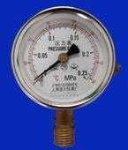 цена на Shanghai three Shen Shanghai Shenan medical autoclave sterilization pressure steam sterilizer pressure gauge