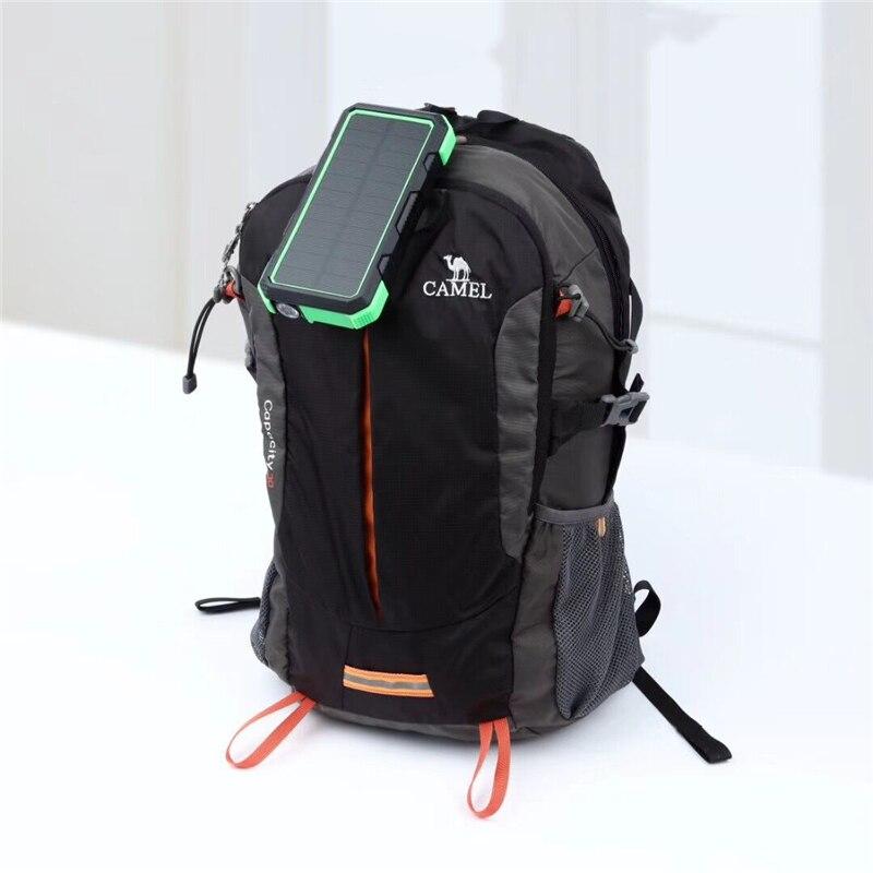 Chargeur Portable sans fil QI 25000 mAh batterie Portable solaire pour iPhone TypeC PD + QC3.0 Charge rapide USB Powerbank batterie externe