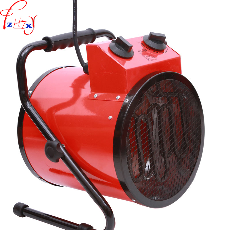 High-power household thermostat industrial heaters Warm air blower Fan heater Steam air heater Electric room heater