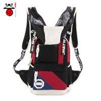Senkey Style New Fashion Casual Canvas Men Women Travel Bag Backpacks With Hood Hat Rucksack Teenage
