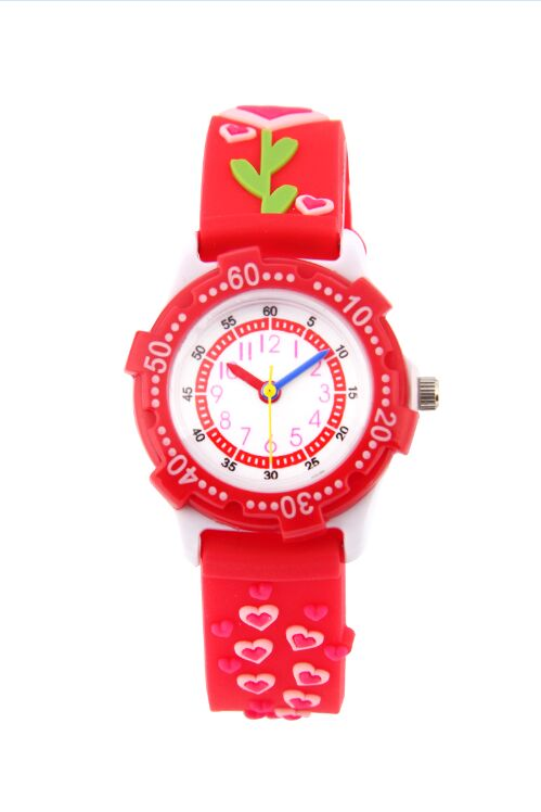 Waterproof Kids Watches flower Children Silicone Wristwatches Brand Quartz Wrist Watch Baby For Girls Boys Fashion Casual Reloj watch for girls strawberry waterproof kid watches brand quartz wrist watch baby girls boys fashion casual reloj