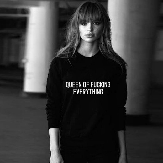 queen of fuck