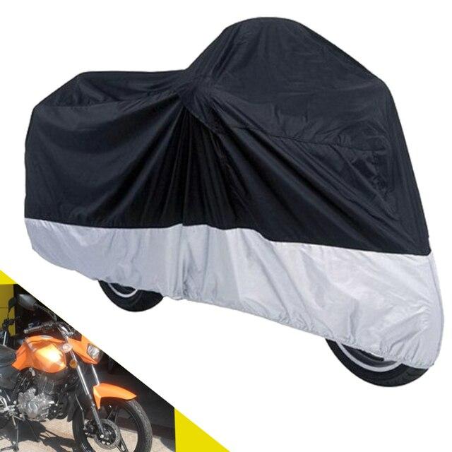Открытый водонепроницаемый мотоциклов обложка уф-устойчивые чехлы мото дождь - покрытие до 295 * 110 * 140