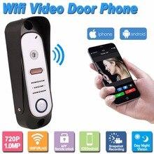 HD 720 P 1.0MP Видео Домофонные Интерком Управления Беспроводной Wi-Fi Смарт-Камера Наружного IP Домофона Дверной Звонок Система Onvif P2P F1383A