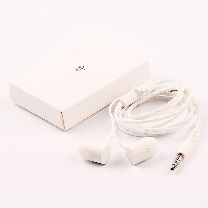 Agaring in-ear Headphones For LG G5 V10 V20 G6 G4 G3 H990N H968 H818 H868 H868G Nexus 5X Sports Earphone Wire control Headset