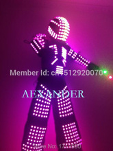 LED robot /led lights costumes/robot led/ LED Robot suits/ Alexander robot suit