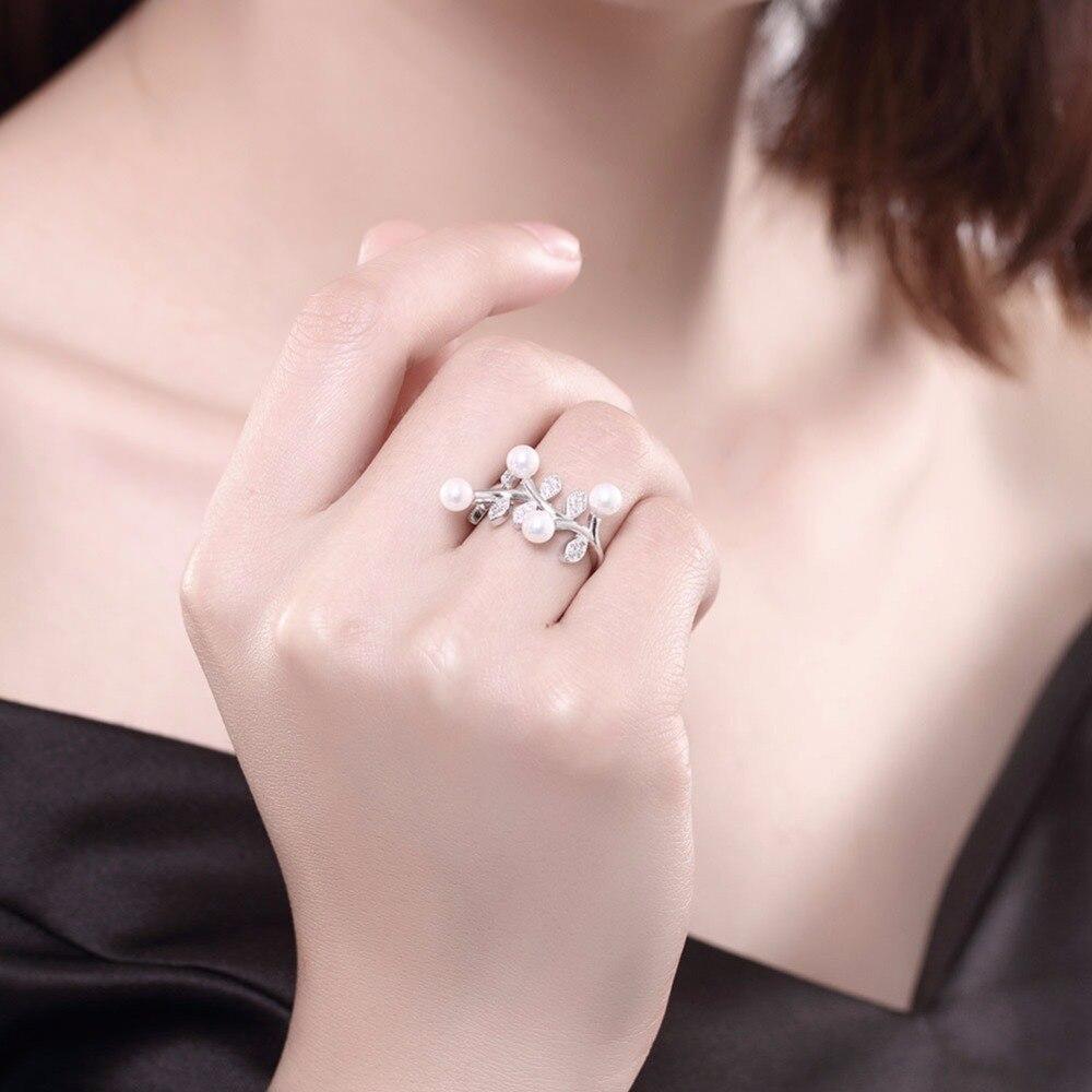 Aliexpress.com : Buy GNIMEGIL New LEAVES Pearl & AAA Crystal Jewelry ...