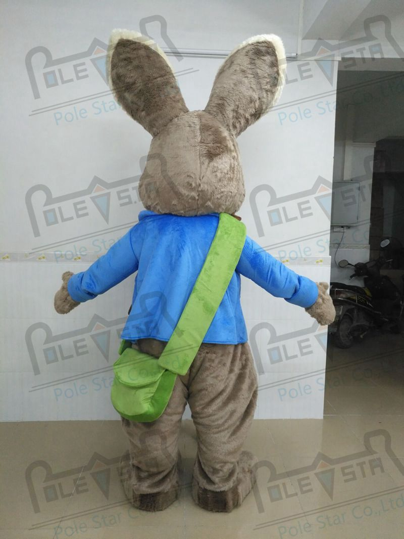 93565a7710a98 plush Mr peter rabbit mascot costumes quality easter bunny mascot ...