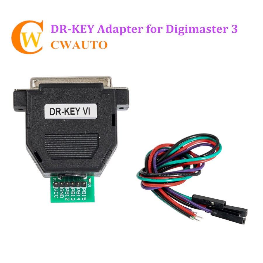 Yanhua DR-Clé DR Clé Adaptateur Travailler avec Digimaster III CKM100 à Déverrouillage/Touche de Réinitialisation